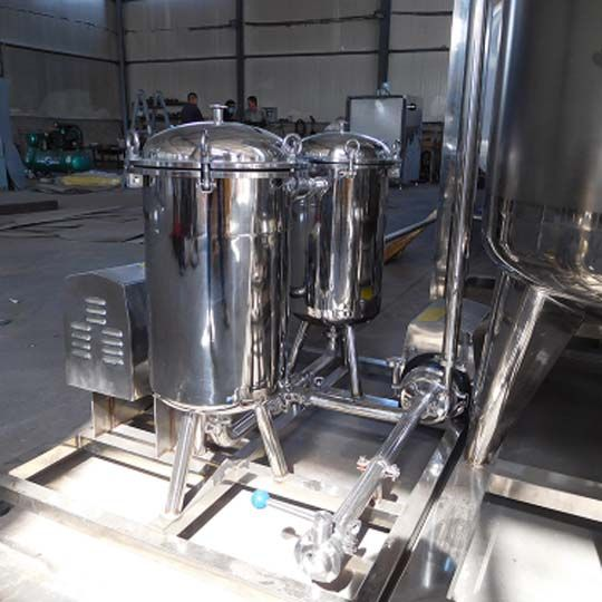 automatic milk filter machine