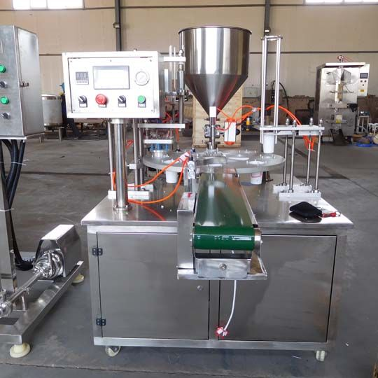 automatic yogurt filling machine