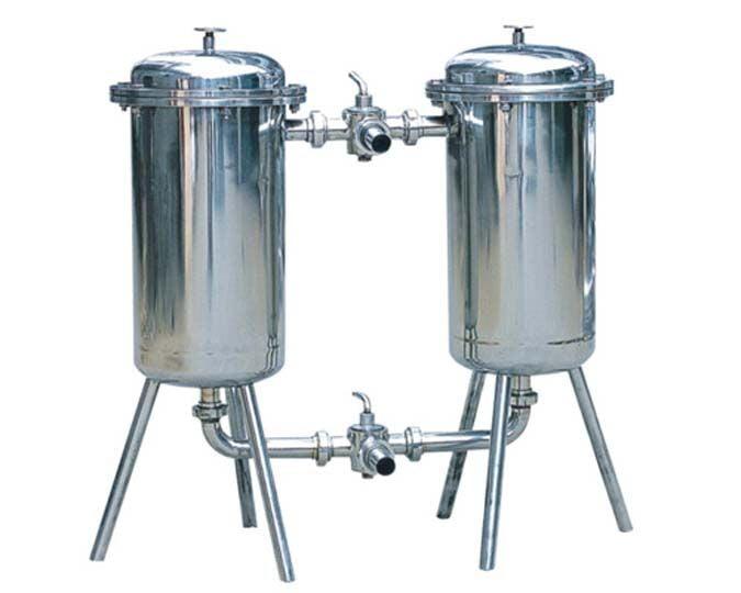 duplex filter for milk filtration