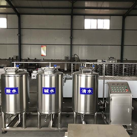 high-efficient yogurt machine cleaning equipment