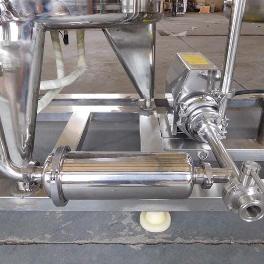 single filter for milk miltration