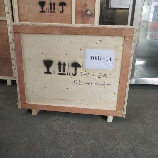 commercial frozen yogurt machine with wooden case