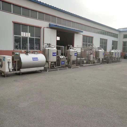 yogurt machines are prepared for shipping