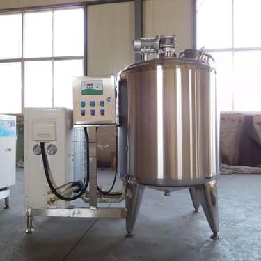 300L milk cooling tank