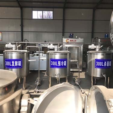 preheating+sterilizing+fermenting